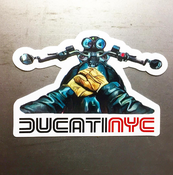 Image of Ducati NYC Vlog Sticker