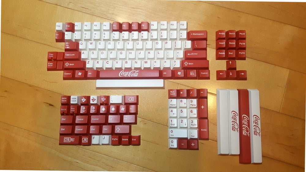 Image of JT Keycap Cola Keyset