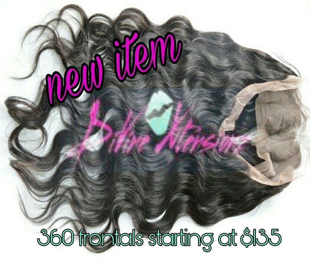 Image of HOT NEW ITEM 360 LACE FRONTALS
