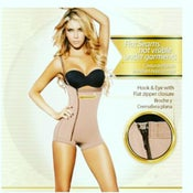 Image of Side zipper full body crotchless shaper