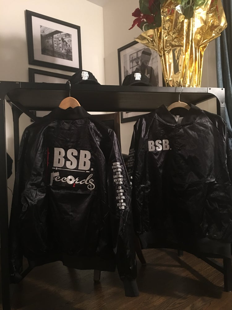 Image of BSB RECORDS SATIN TEAM JACKETS