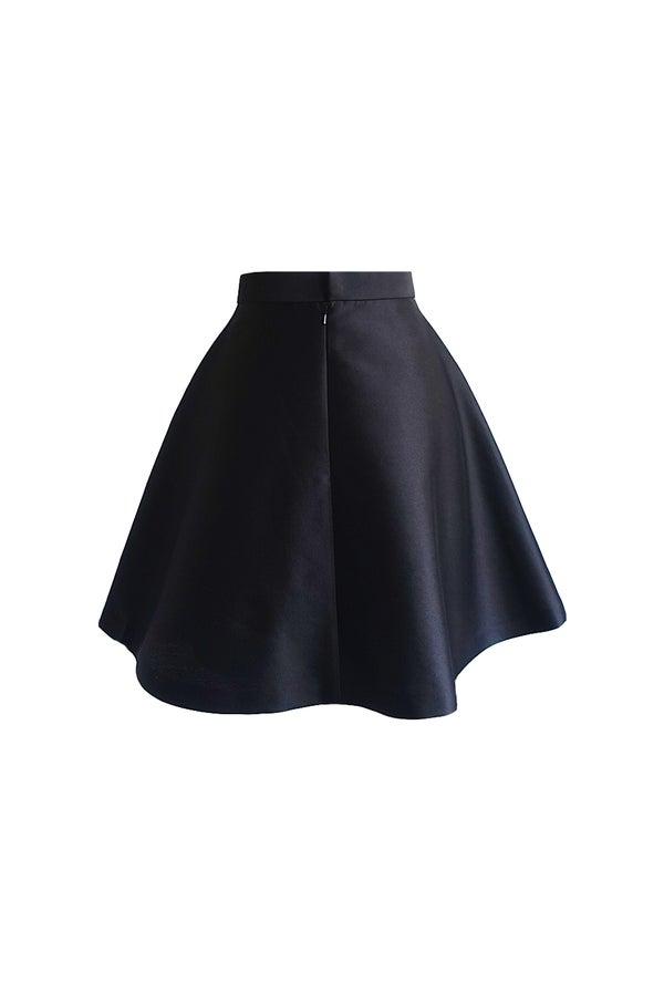 Mulberry Skirt (Black) $565 - Melissa Bui