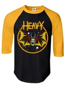 "Image of 'HEAVY metal parking lot"" raglan"