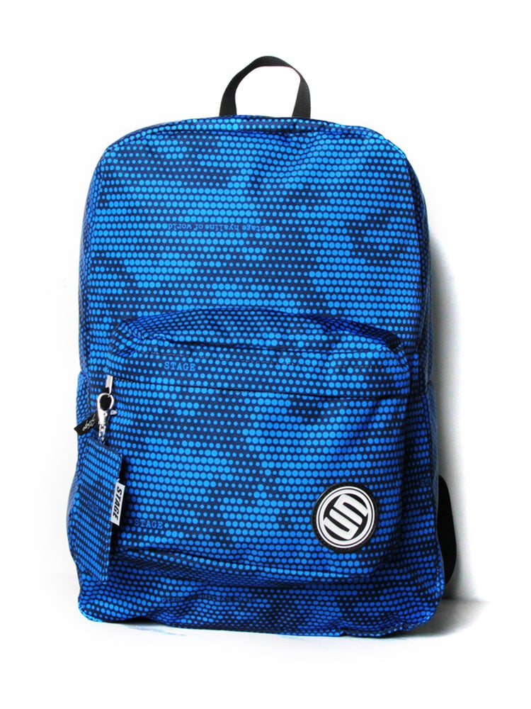 Image of Stage - Camo Dot Backpack (Blue)