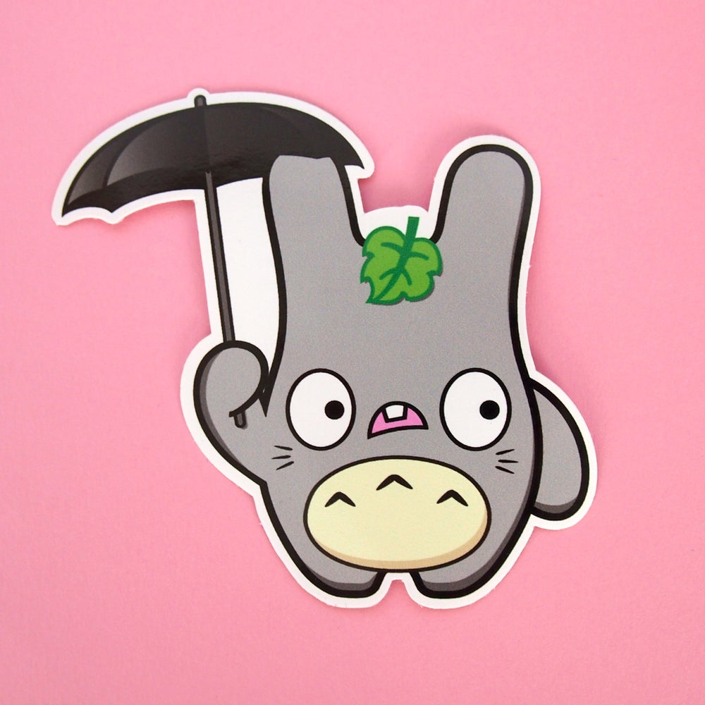 Image of Totoro Baldwin vinyl sticker