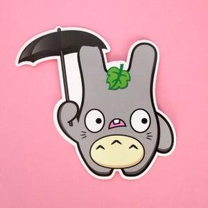Image of Totoro Baldwin vinyl sticker
