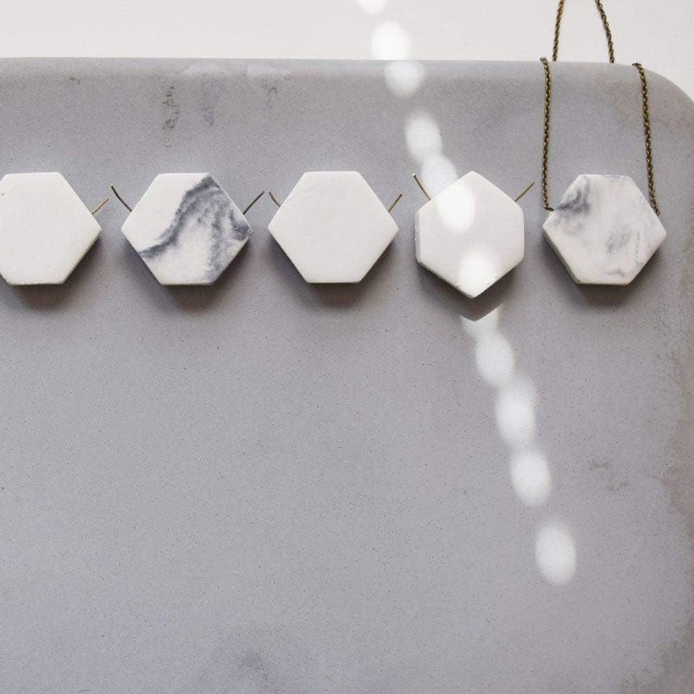 Image of concrete hexagon