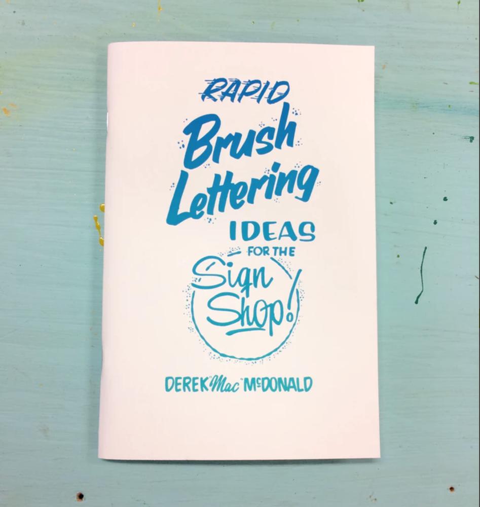 Image of Rapid Brush Lettering Zine