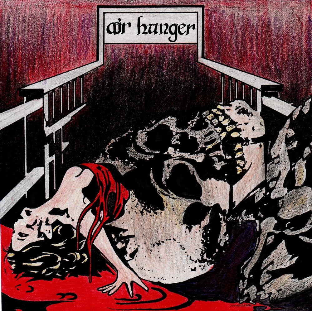"""Image of Air Hunger self-titled 7"""""""