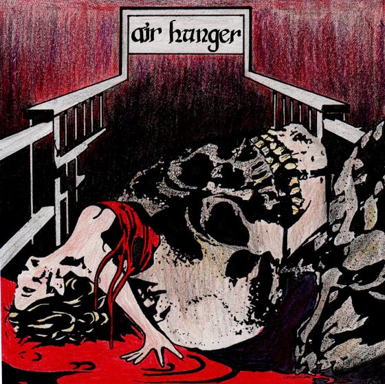Image of Air Hunger self-titled 7""