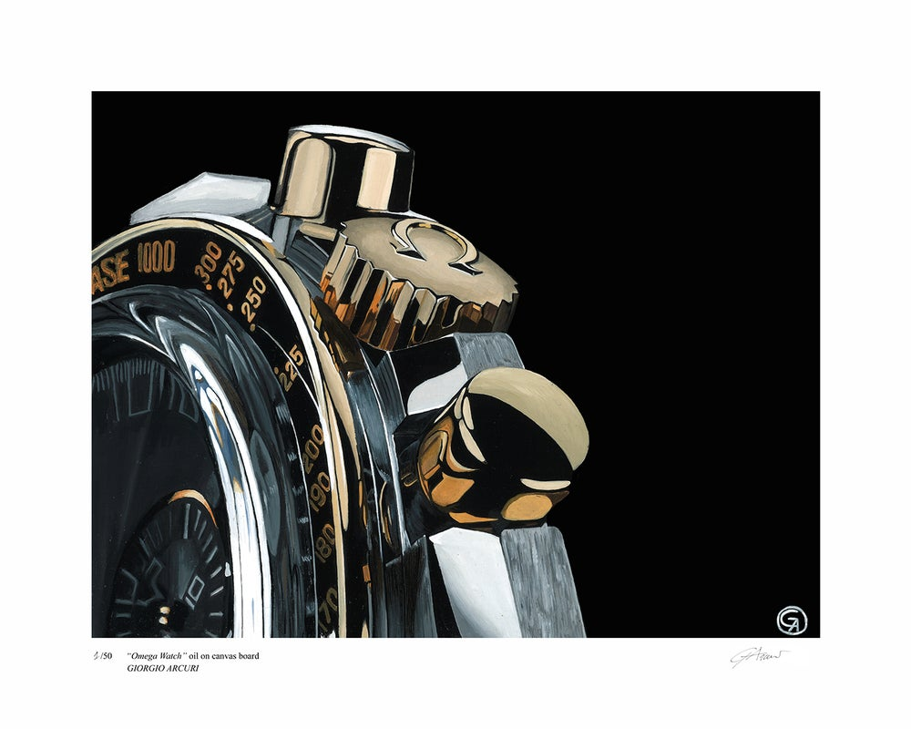 "Image of ""Omega Watch"" Limited Edition Print"