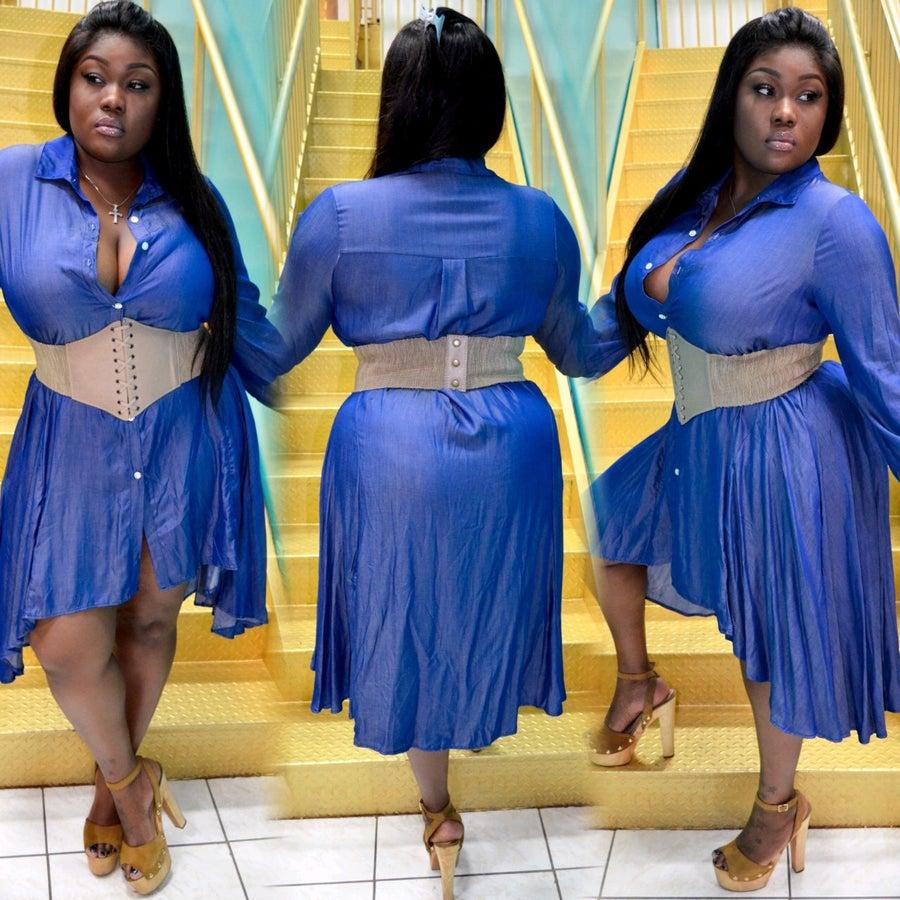 Image of Sophia Denim Dress