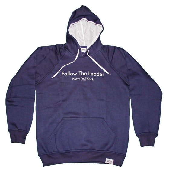 Image of Leader Hooded Sweatshirt (Navy)