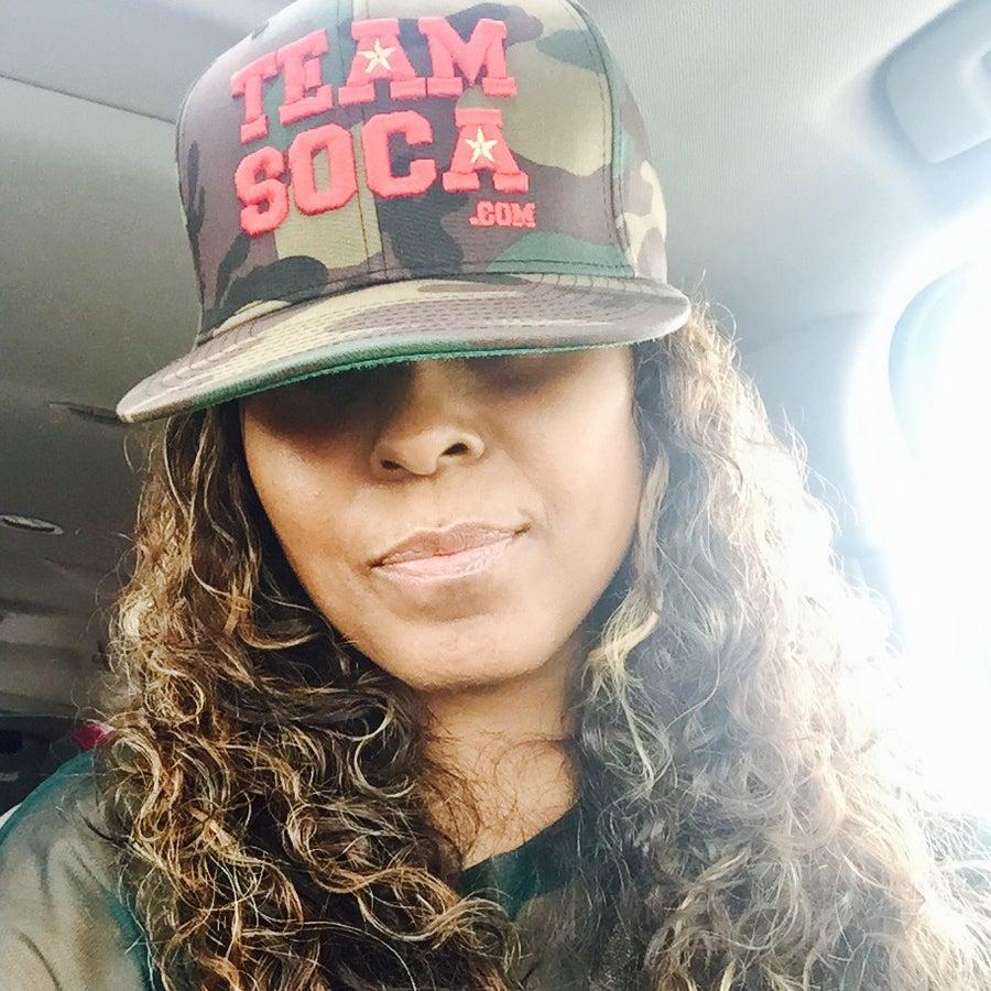Image of Team Soca Camo Hat