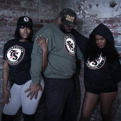 Image of Men & Women Team Soca T-Shirts - Version 2