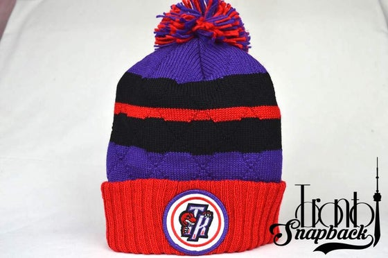 Image of TORONTO RAPTORS MITCHELL & NESS WINTER BEANIE
