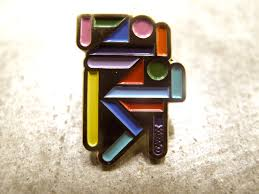 Image of CLASSIXX RUNNING MAN LAPEL PIN