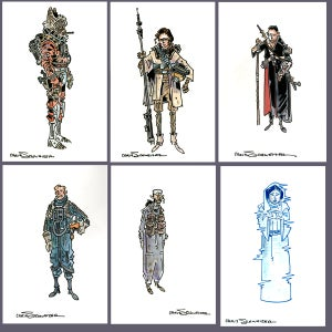 Image of Star Wars 4x6 Commissions