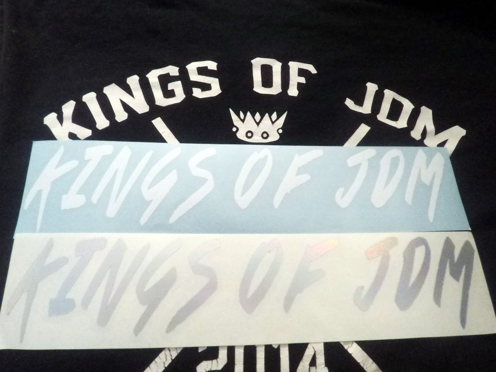 Image of Kings of JDM Decal