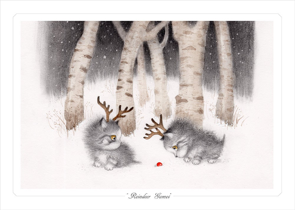 "Image of ""Reindeer Games"" Limited Edition Print"