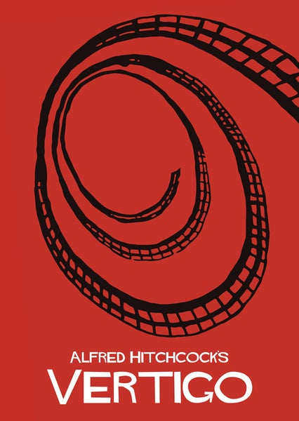 Image of Alfred Hitchcock's Vertigo by Adam Armstrong