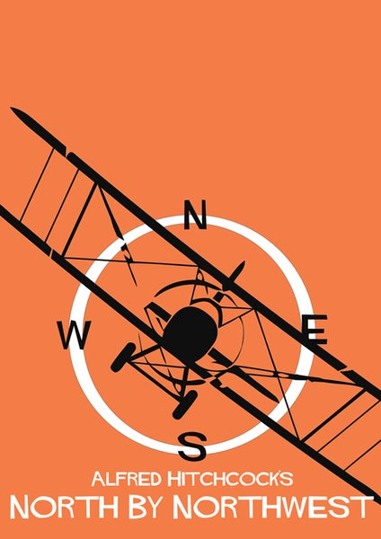 Image of Alfred Hitchcock's North By Northwest by Adam Armstrong