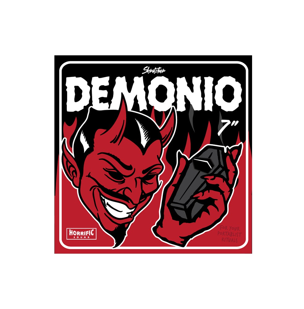 "Image of DEMONIO BREAKS - SKRATCHER (WUNDRKUT, PAUL SKRATCH & MIKE MSA) 7"" W/SLIPMAT"