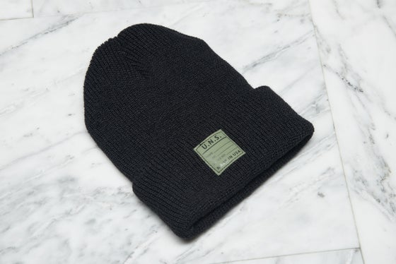 Image of WC15-WATCH CAP BLACK