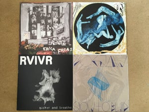 Image of LP's - Erica Freas, Hot Tears, Dogjaw, RVIVR, Somnia ETC