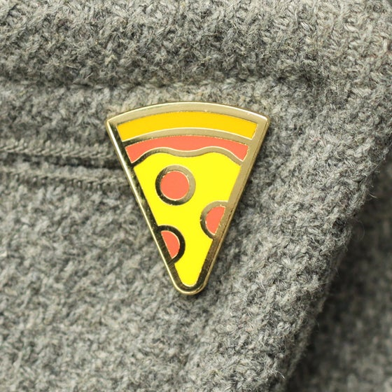 Image of Pizza Enamel Pin