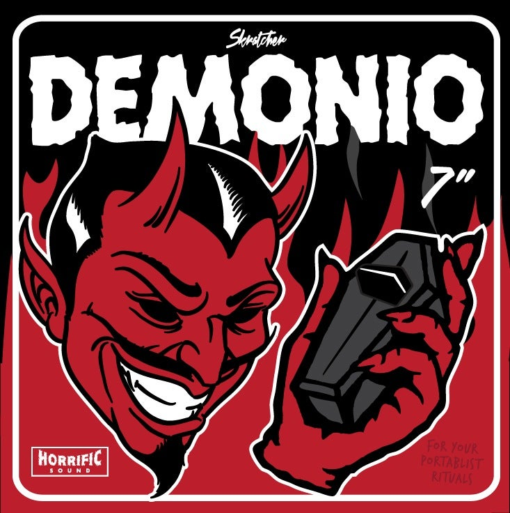 Image of DEMONIO BREAKS (& SLIPMAT) - SKRATCHER (WUNDRKUT, PAUL SKRATCH & MIKE MSA)