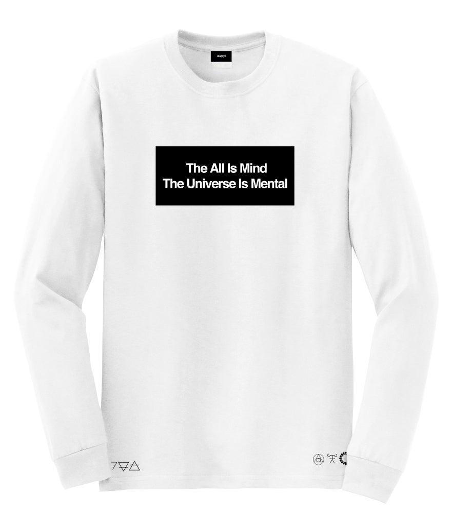 Image of KingNYC The ALL Is Mind LS Tshirt