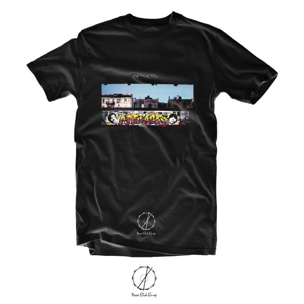 Image of ARTIFACTS Wrong Side Of The Tracks tee ( preorder ships 1-16-17)