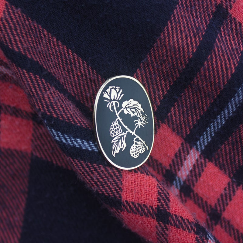 Image of Blackberry Pin