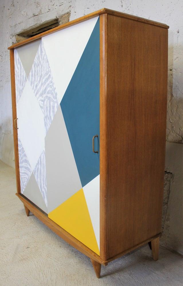 Image of Dressing portes coulissantes Vintage