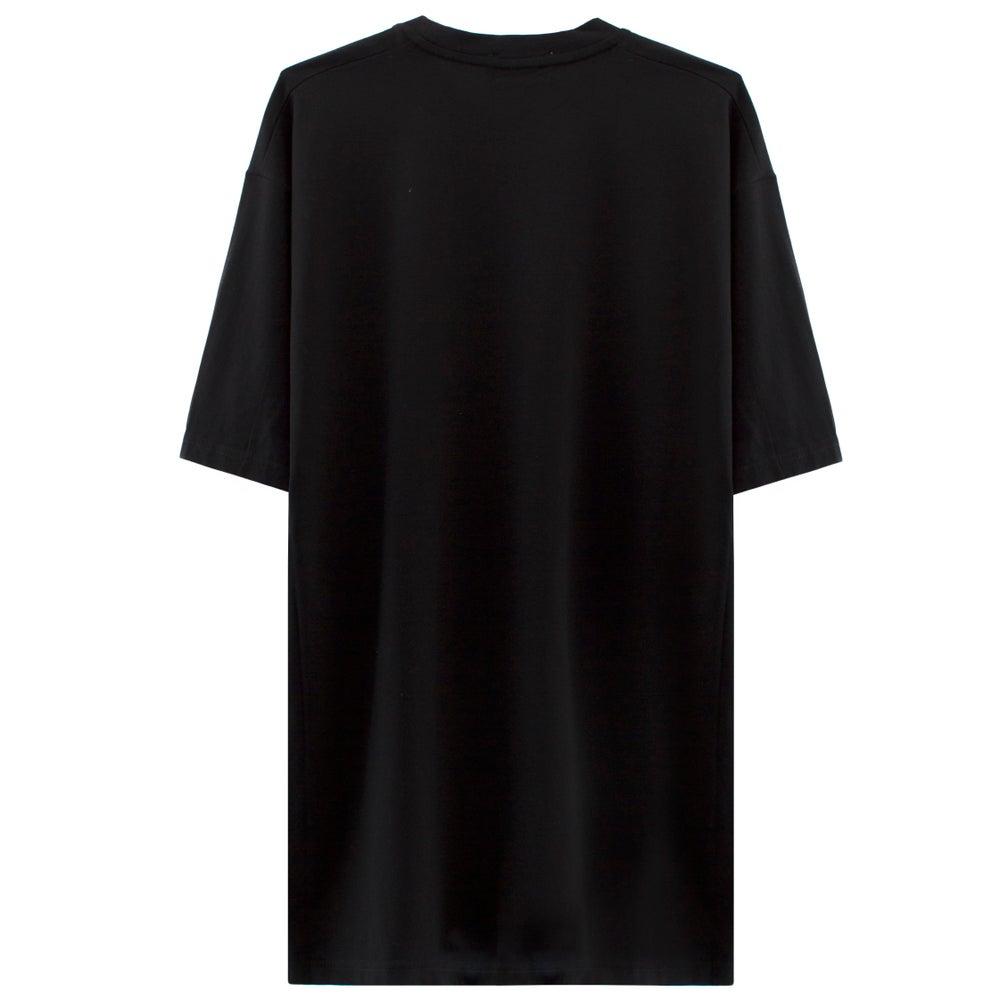 Image of BUMPER STICKER T-shirt - Black