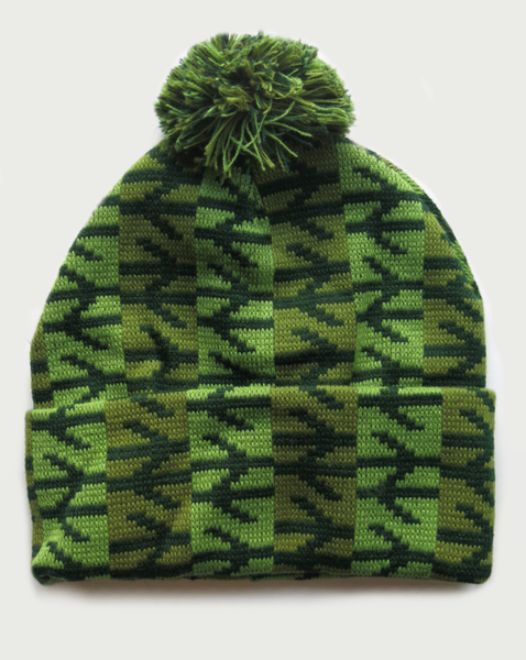 Image of TRAINSPOTTER HAT [GREEN]