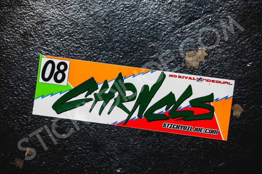 Image of The Chronicles 2017 JACCS Tribute Decal **NEW**