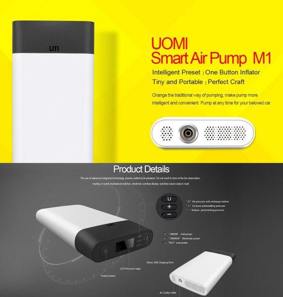Image of UOMI Bicycle Smart Air Pump