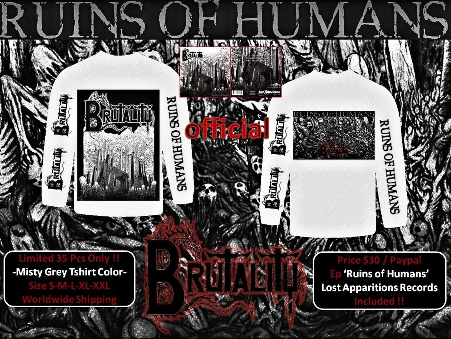 "Image of Brutality ""Ruins of Humans"" ( USA )"