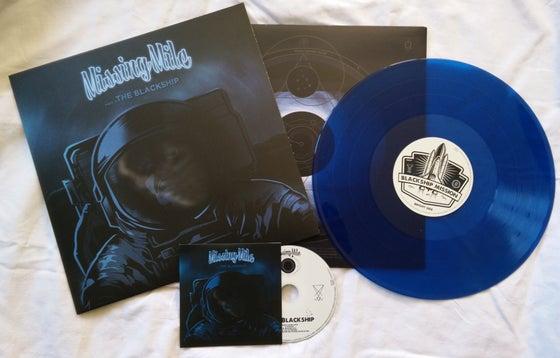 "Image of PACK LP + CD EP MISSINGMILE ""THE BLACKSHIP"""