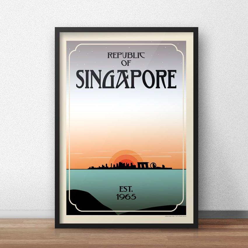 Image of Singapore Est. 1965 Poster