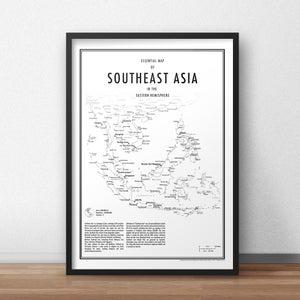 Image of Southeast Asia (Fine Art Print)