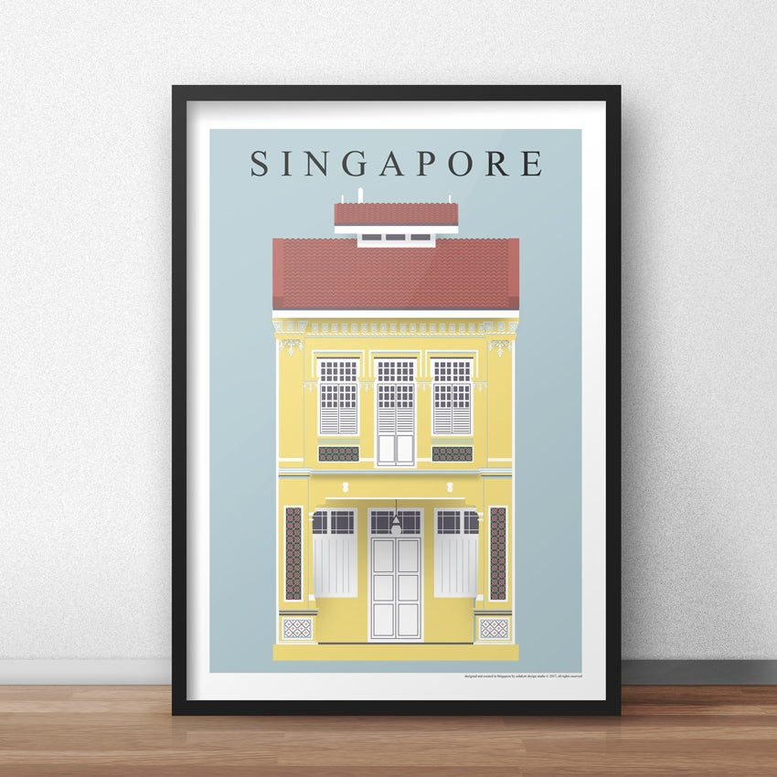 Image of Joo Chiat Shophouse (Fine Art Print)