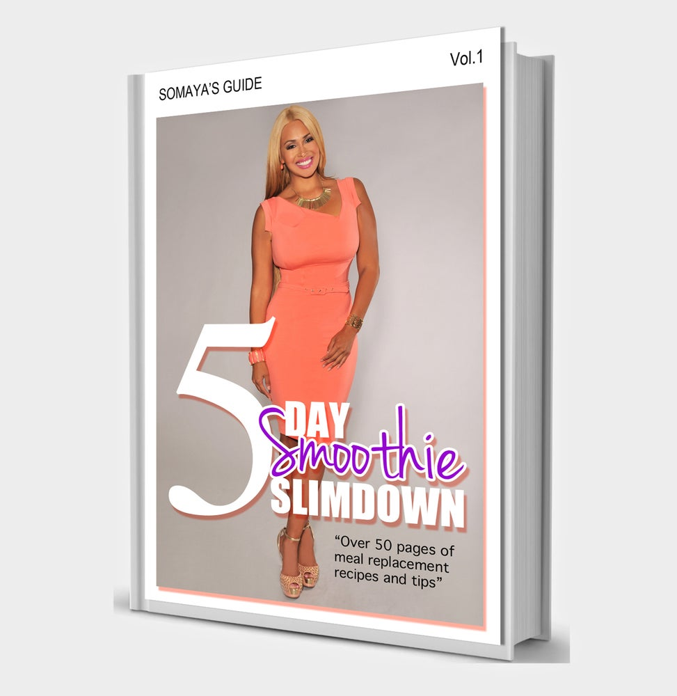 Image of 5 Day Smoothie Slimdown Booklet