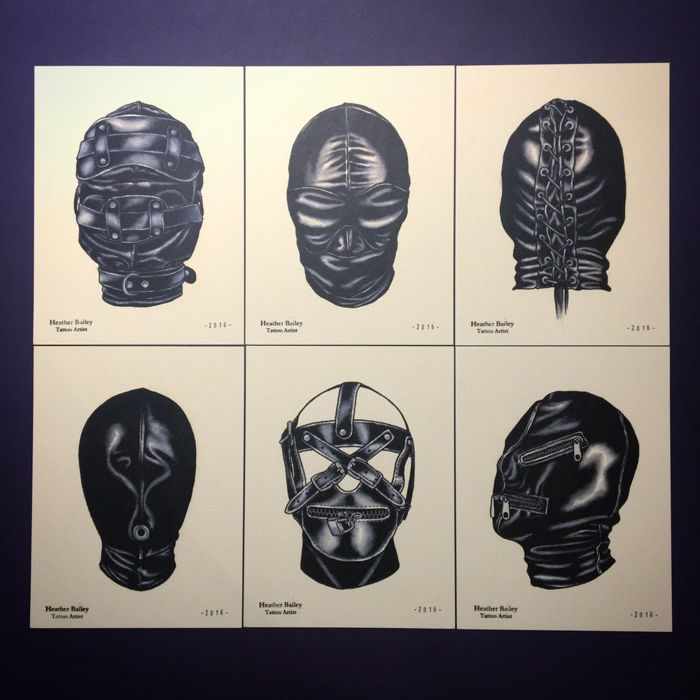 Image of Hood/Mask Print Set