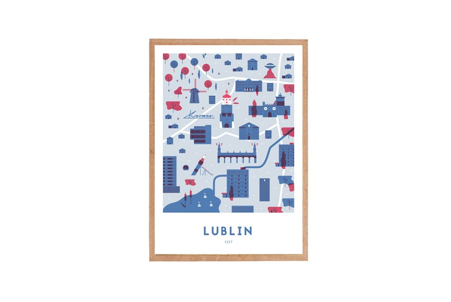 Image of 1317 - LUBLIN (niebieski) // Michał Bednarski