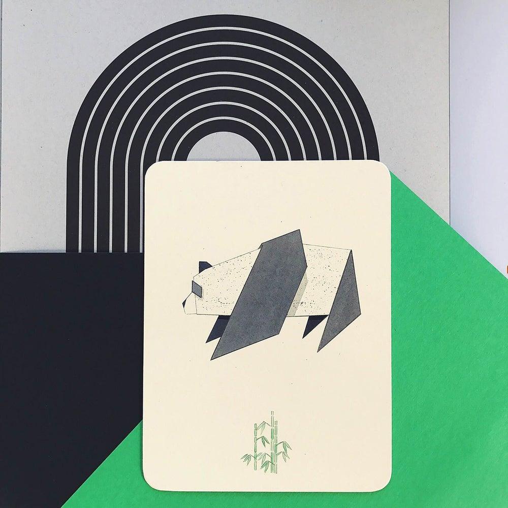 Image of Origami Panda