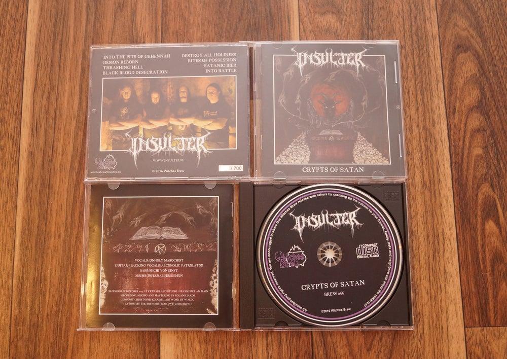 Image of Crypts Of Satan CD