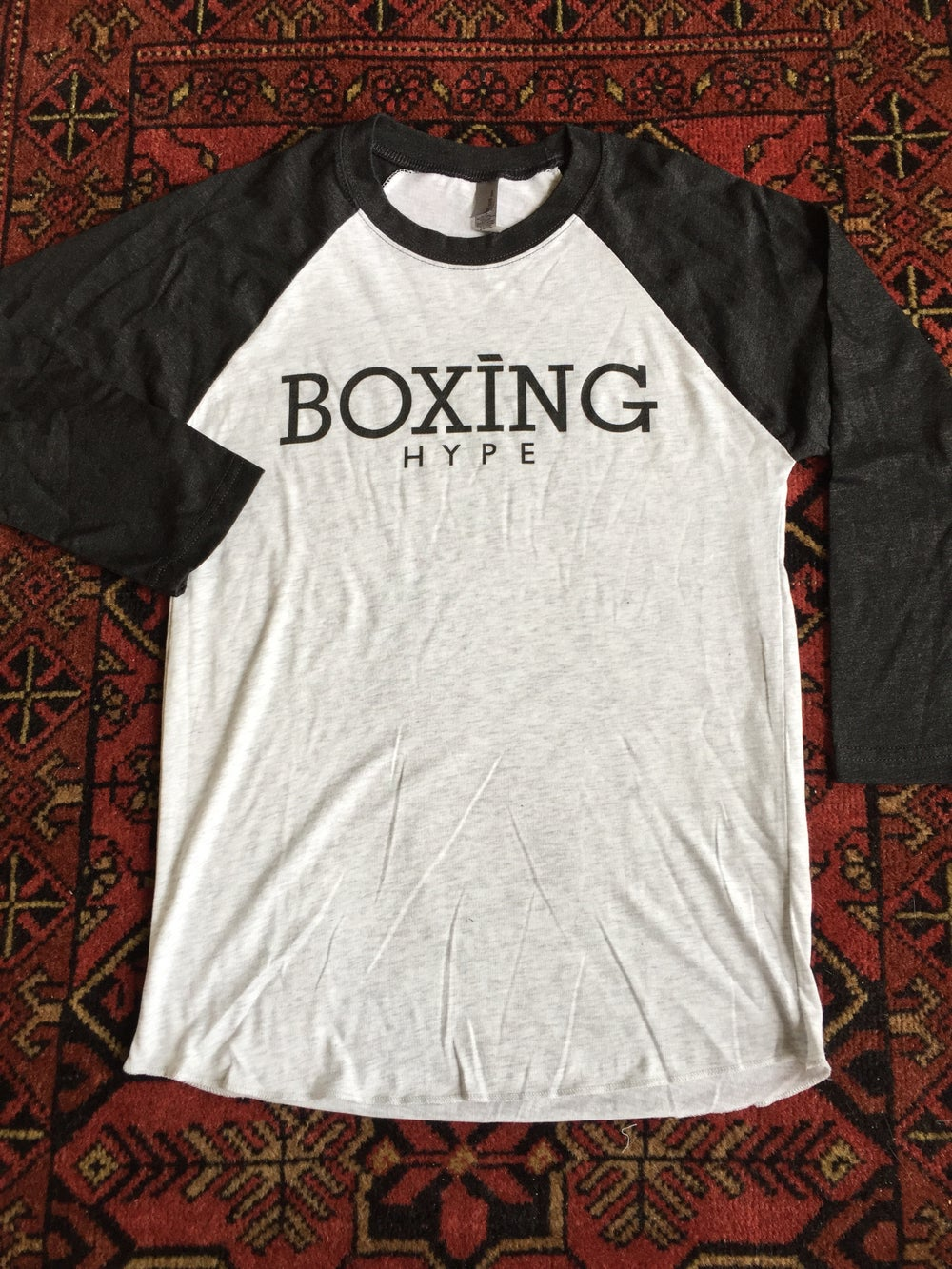 Image of Mens BoxingHype 3/4 Baseball Tees (2 colors available)